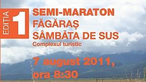 Semimaratonul Tarii Fagarasului ~ 2011