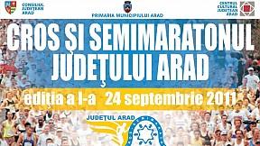 Crosul şi semimaratonul judeţului Arad ~ 2011
