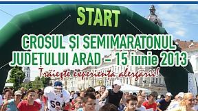 Crosul şi semimaratonul judeţului Arad ~ 2013