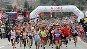 Intercontinental Istanbul Eurasia Marathon ~ 2013