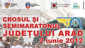 Crosul şi semimaratonul judeţului Arad ~ 2012