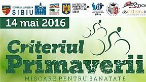 Criteriul Primaverii ~ 2016